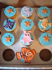 Nemo themed cupcakes