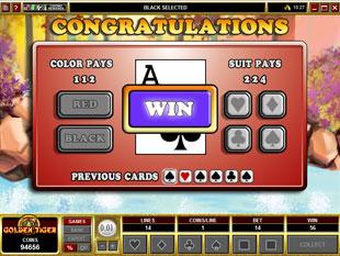 free Bearly Fishing gamble bonus game