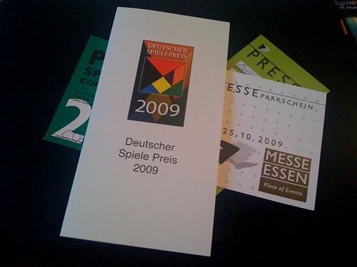 Einpacken für die Spiel '09