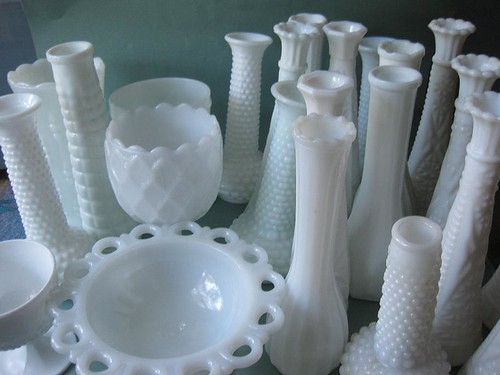 Custom Milk Glass Order