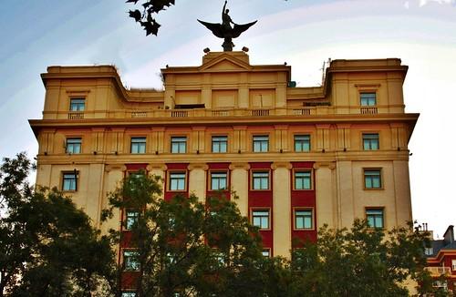 Hotel Gran Meliá Fénix. Paseo de la Castellana. Madrid por MadridLaCiudad.