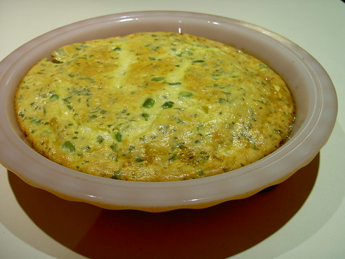 Broadbean and Mint Frittata