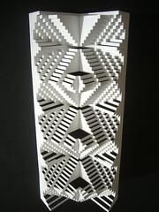 3 spine concertina fold (elod beregszaszi) Tags: art geometric matrix architecture