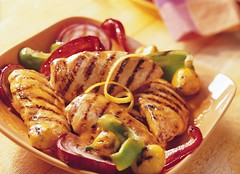 Grilled Citrus Chicken Recipe (Betty Crocker Recipes) Tags: lemon grill garlic peppers citrus grilled redpepper greenpepper orangepeel bettycrocker generalmills grilledchicken grillmarks chickenbreasts citruschicken grilledcitruschicken grilledcitruschickenrecipe