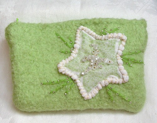 Wishing Star Purse by Woolbrain