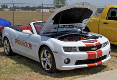 2011 Camaro SS Convertible (Bill Jacomet) Tags: show field car airport texas airplanes houston autos ellington aeros 2011 aerosautos