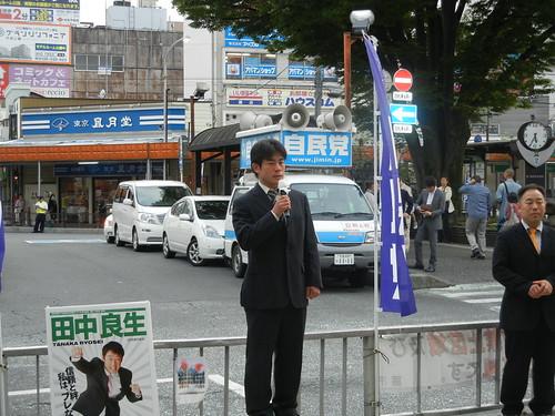 20110513 蕨駅前街頭演説