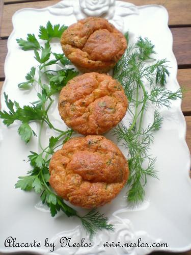 Otlu Peynirli Muffin