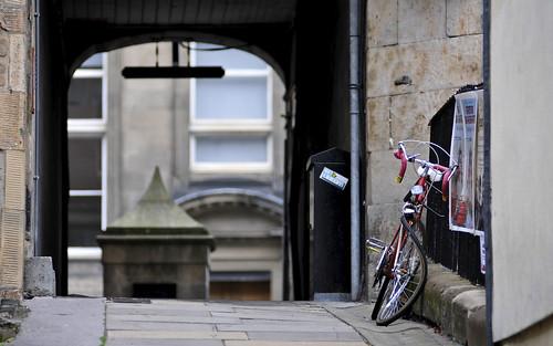 Abandoned Bicycle, Edinburgh