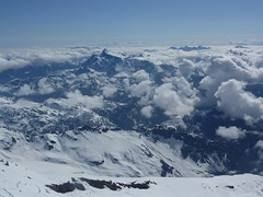 Shuksan from Sherman summit, Pickets beyond