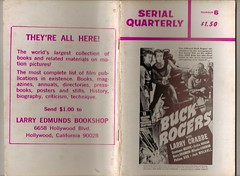 SERIAL QUARTERLY No6 (Pagan555) Tags: movies buckrogers serials fanmags larrycrabb