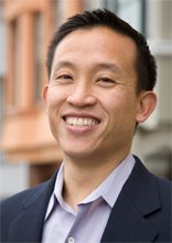 San Francisco Supervisor David Chiu. Chiu was elected in November 2008 to represent District 3. He took the oath of office on Thursday, Jan. 8, 2009 and was elected president of the Board of Supervisors by his colleagues the same day. Photo from David Chiu campaign Web site, votedavidchiu.org.
