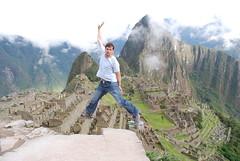 Take off from Machu Picchu