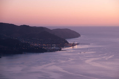 Lyttelton at dawn