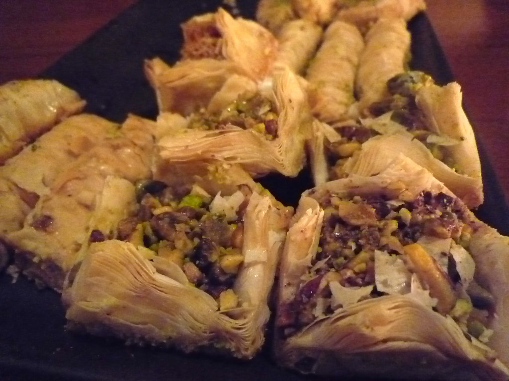 Baklava and other pastries