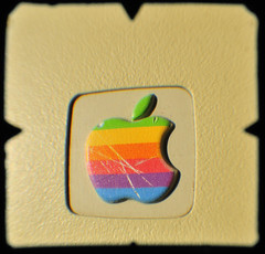 Rainbow Apple TTV macro (heritagefutures) Tags: light copyright blur macro tlr apple computer lens macintosh mirror rainbow mac nikon focus soft personal tube first through hr dirk allrightsreserved 812 viewfinder olbia edges 128k d300 105mm m0001p applemacintosh ttv macintosh128k micronikor throughtheviewfinder spennemann throughtheviewfider pseudotlr heritagefutures dirkhrspennemann nikolbia nikolbiattv812 macintosh1 copyrightdirkhrspennemann ausphoto micr0