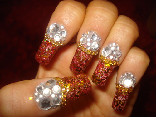 nail designs for 2011. Gitter Nail Designs 2011