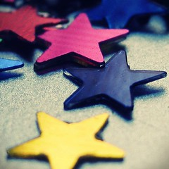 s t a r s (staRdixa) Tags: macro cute glitter stars star colorful colours shine magic estrellas estrellitas purpurina colorfulstars glitterstars