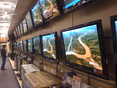 Too many TVs at Best Buy