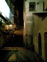 Hintern Rathaus bei Nacht
