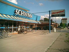 Chicagoland Bicycle (reallyboring) Tags: chicago bicycle store illinois commercial schwinn chicagoland mountgreenwood