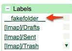 Gmail - fakefolder