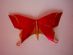 flutur1 (anamoniq) Tags: butterfly origami paperfolding