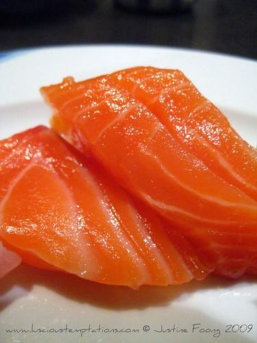 Salmon Sashimi - Kampachi, Bangi