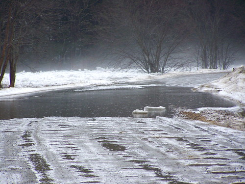 Ice Jam on Missisquoi River - 05 by you.