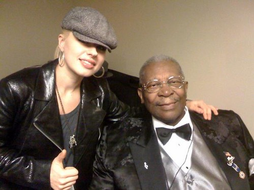 Orianthi Panagaris and B.B. King by progrocktv1000.