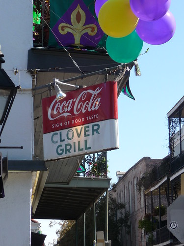 Clover Grill Sign