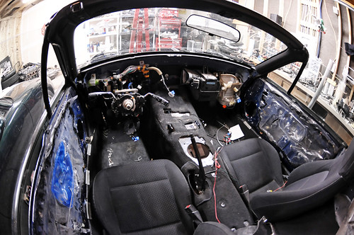 Stripped Interior