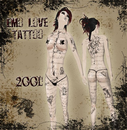 emo love tattoos