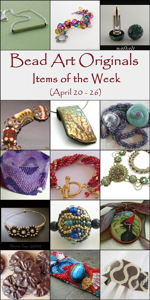 Bead Art Originals Items of the Week (April 20-26)