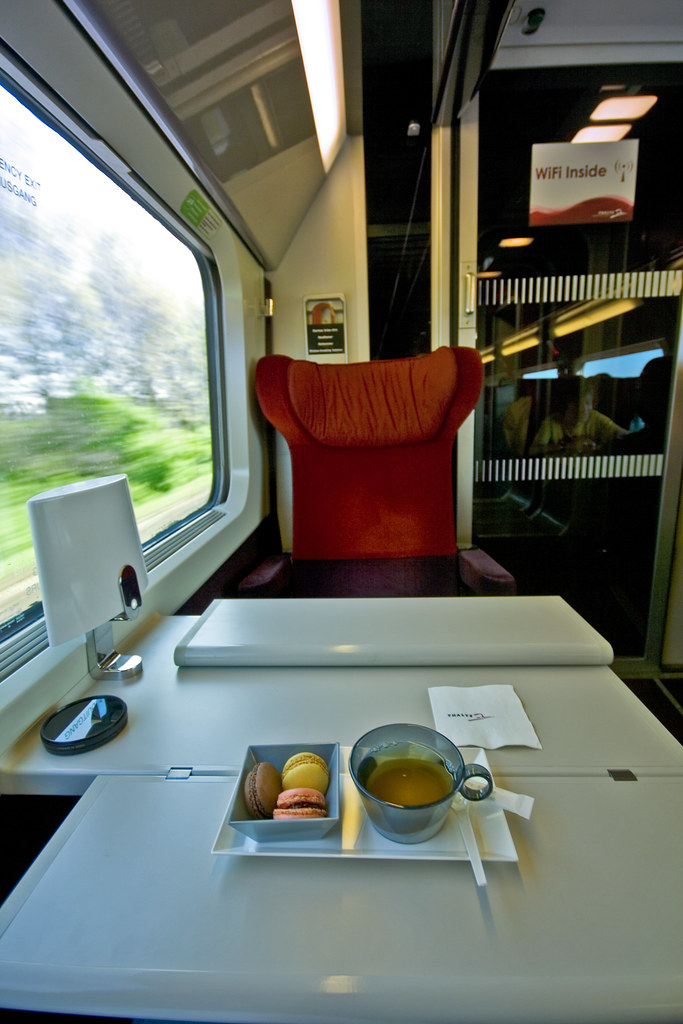Refurbished Thalys Interior
