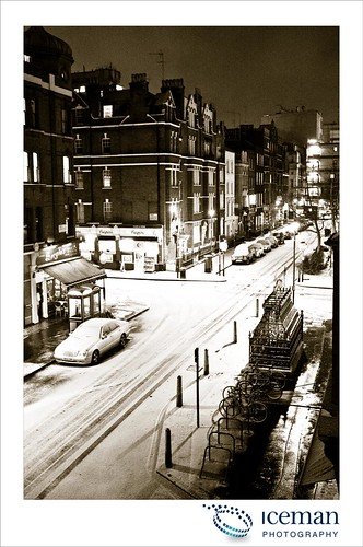 Snow in London 005