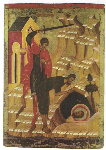 The Decapitation of St John the Baptist