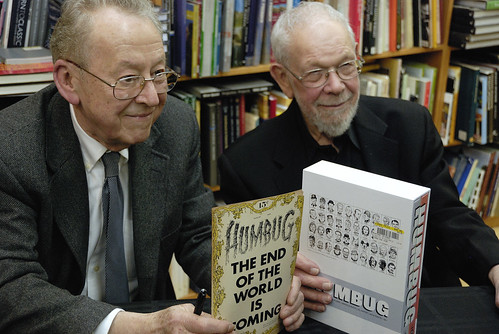 Arnold Roth & Al Jaffee Humbug signing at the Strand Bookstore, NYC