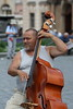 Double Bass Player, Old Town Square, Prague (Rowan Castle) Tags: street musician prague jazz oldtownsquare doublebass img9399 coolestphotographers