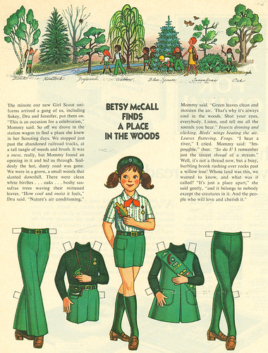 Betsy McCall, Girl Scout