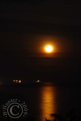 ZA moonrise 7-9-09
