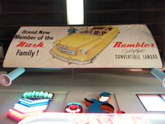 1950 Nash Rambler Landau banner (Bagel!) Tags: california june museum automobile 2009 deerpark escondido
