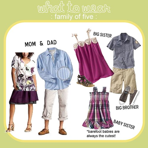 What to Wear family of five 4