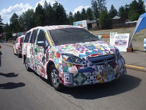 Quilt Art Car! - Sisters