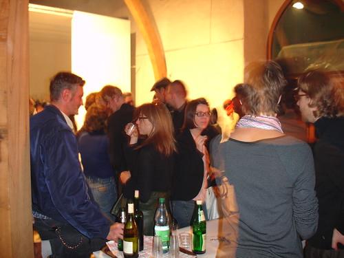 Party im Leinwandhaus. September 2005