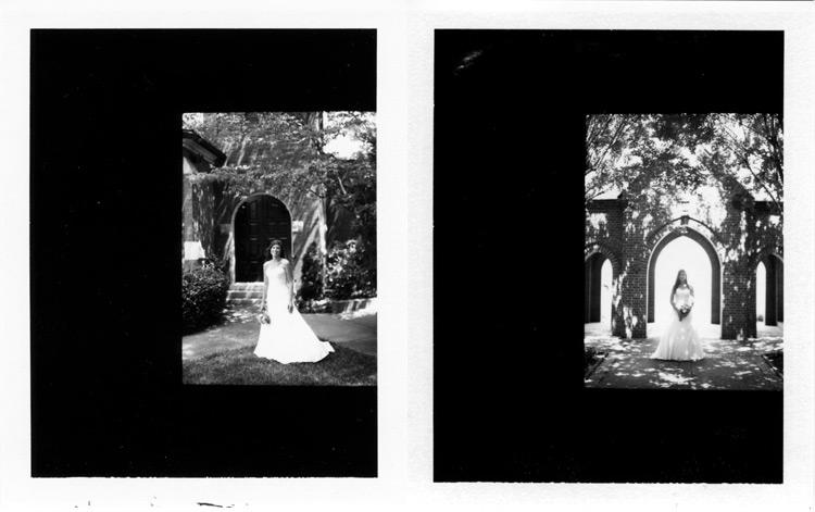 Image of Chris and Lauren Polaroids