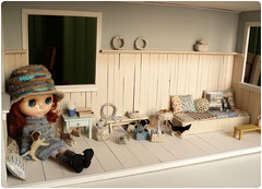 The house is almost ready ^^ (megipupu) Tags: miniature doll handmade blythe dollhouse megipupu
