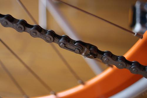 Half piece chain