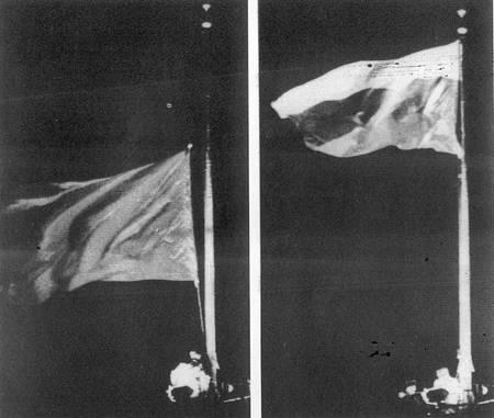 苏联国旗悄然降下,俄罗斯国旗升起