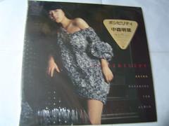 原裝絕版 1984年 中森明菜 AKINA NAKAMORI 圖案 黑膠唱片 原價 2800YEN 中古品